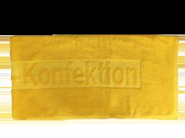 Handtuch mit Hoch-Tiefeinwebung